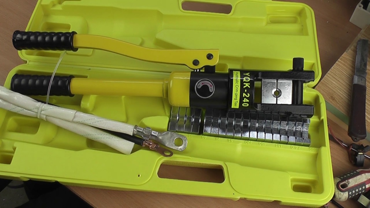 Review Cos Hydraulic Pliers 12Ton - Hydraulic Cable Lug Crimping 16-240mm2 | Hydraulic Crimping Tool