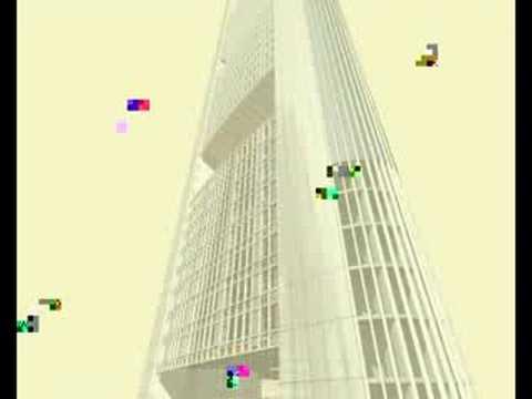 Animation Commerzbank Frankfurt