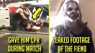 10 Times WWE Wrestlers BROKE CHRACTER This Year! - The Fiend Bray Wyatt, Roman Reigns & More!