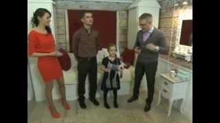 Цифровые обои Rebel Walls в передаче Фазенда на Первом канале (детская)