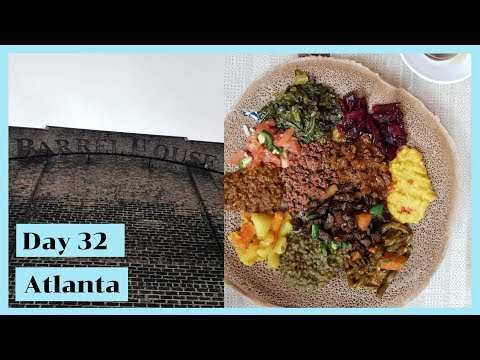 Day 32 Jack Daniels distillery | Atlanta | Ethiopian Food in Atlanta
