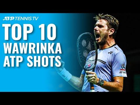 Top 10 Stan Wawrinka ATP Shots!