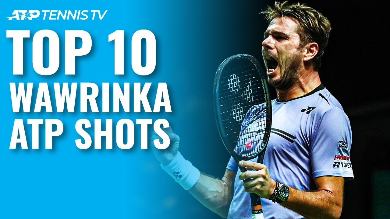 Top 10 Stan Wawrinka ATP Shots!