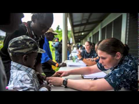 Pacific Partnership 2015 mission in Papua New Guinea