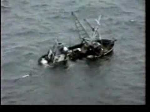 Coast Guard - Gambler Sinks And Crew Is Rescued