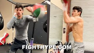 RYAN GARCIA BARE-KNUCKLE SPEED & POWER; LIGHTS UP BAGS FASTER THAN EVER BEFORE
