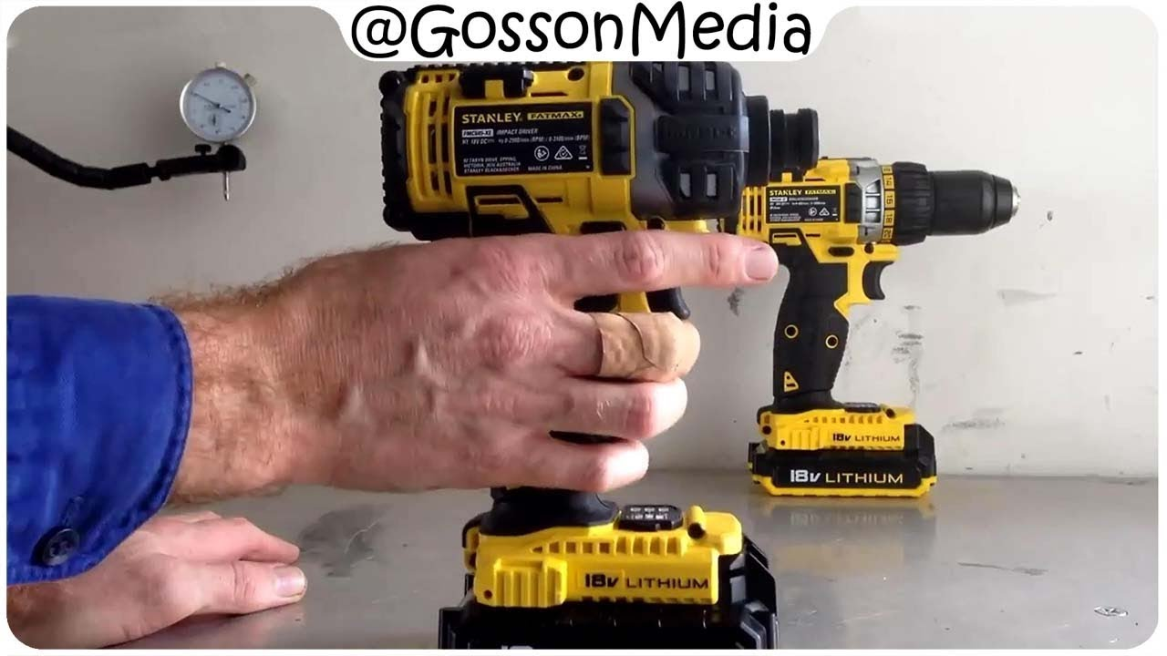 Nev Reviews : Stanley Fatmax Drill / Impact Combo