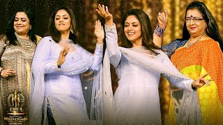 Top Notch: Nadhiya, Poornima & Ambika's BLASTING DANCE! Stunning 80's Reunion | Wonder Women Awards