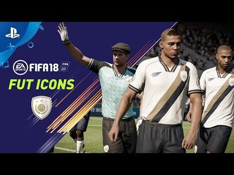 FIFA 18 - FUT ICONS PS4 Trailer | E3 2017