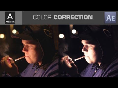 Color Correcting Flat Footage / Balancing Colors - After Effects Tutorial