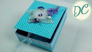 Подарок Маме! Коробка Шкатулка Своими Руками!