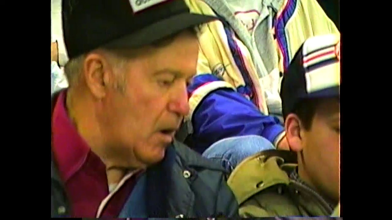 Yankees at Expos rough footage scenes  4-3-88