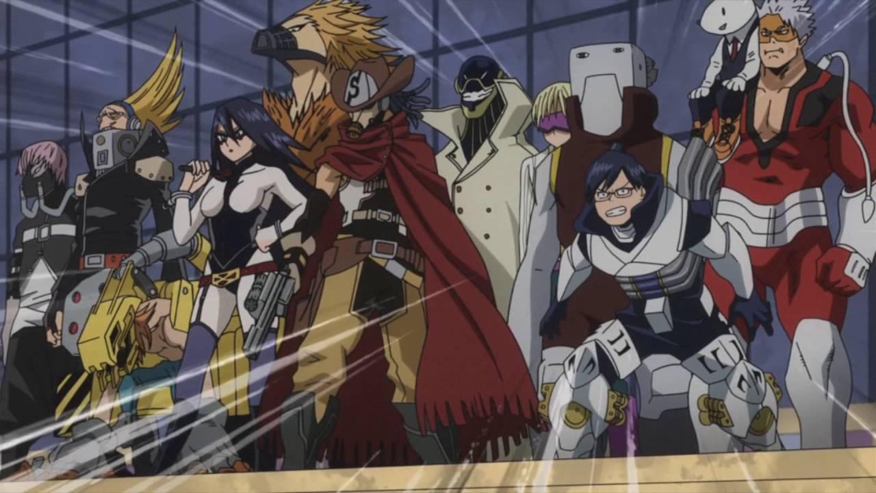 Boku no hero academia ua heroes 39 s appearance episode 13 youtube - Boku no hero academia shouto ...