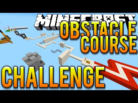 Minecraft UNIQUEIMPACT'S OBSTACLE COURSE CHALLENGE with Vikkstar