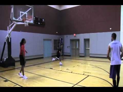 Chamique Holdsclaw Dribble Step Back Jumpshot