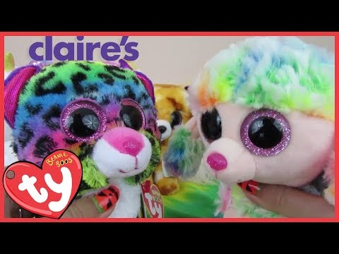 Beanie Boo TY Haul Unboxing from Claire s ce9f42a48c7c