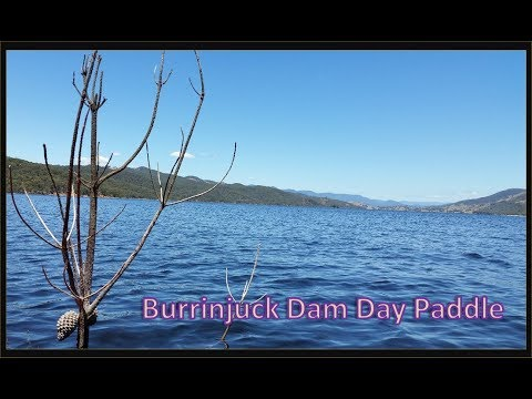 Burrinjuck Dam Day Paddle Jan 2017