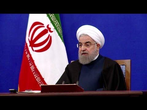 Rohani: Irã não vai renegociar acordo nuclear