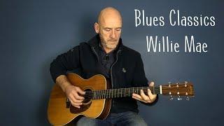 Blues guitar lesson - Willie Mae