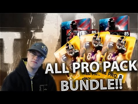 GETTING ELITES VERY CHEAP!! ALL PRO PACK BUNDLE!!  - Madden Ultimate Team 17