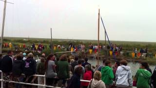 Blakeney Regatta Greasy Pole   Harry Agnew