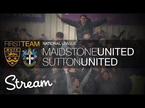 Maidstone United Vs Sutton United (17/03/18)