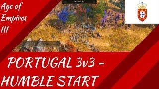 Portugal 3v3 - Humble Start! AoE III