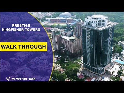 Prestige Kingfisher Towers | Walkthrough Video ᴴᴰ |  FOR ENQUIRY: +91 9019000400