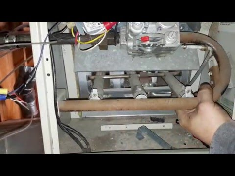 Lazy pilot furnace won't stay lit small flame