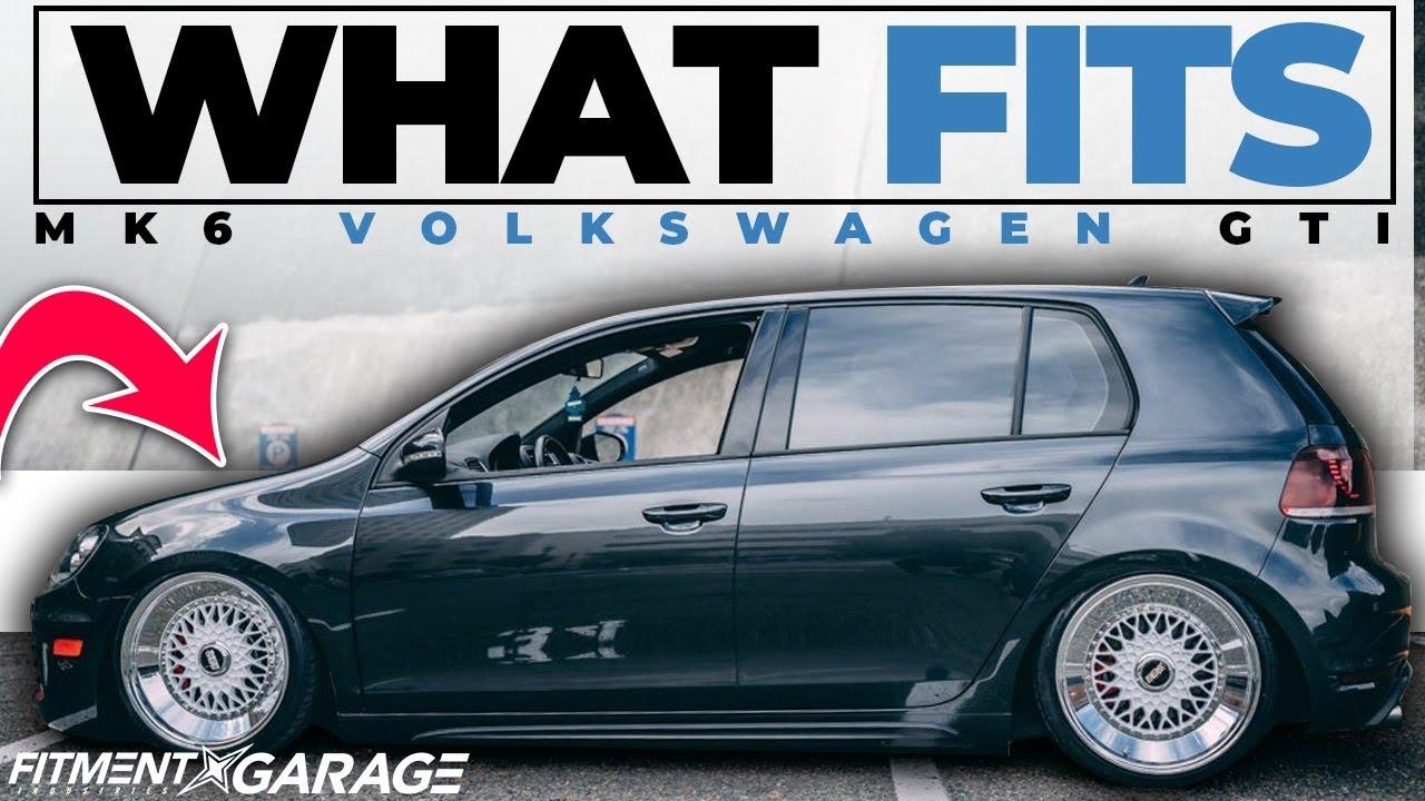 Volkswagen Mk6 Gti What Wheels Fit Youtube