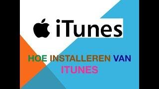Hoe installeren van iTunes