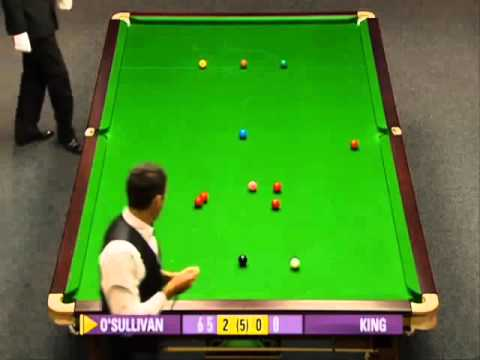 Ronnie O'Sullivan scores his 10th 147 but nearly refuses to pot the final black! 2010 World Open
