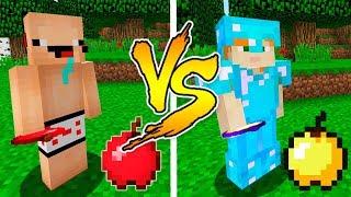 MINECRAFT - NOOB VS PRO: GOLDEN APPLE BATTLE in Minecraft