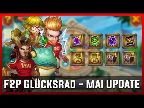 F2P Glücksrad - MAI UPDATE | Castle Clash [Deutsch]