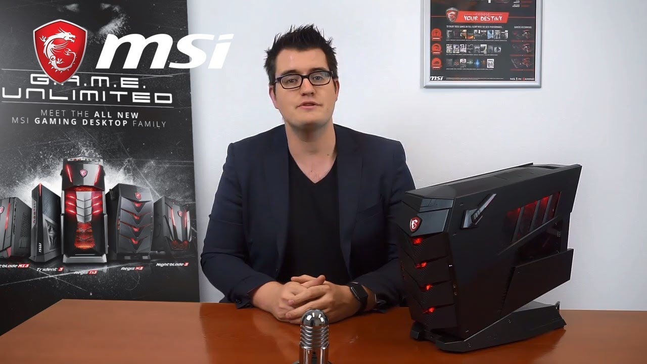 Get to know the Aegis X3 features | Gaming Desktop | MSI