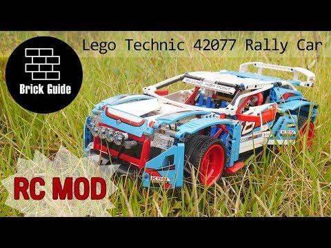 Lego Technic 42077 Rally Car RC MOD