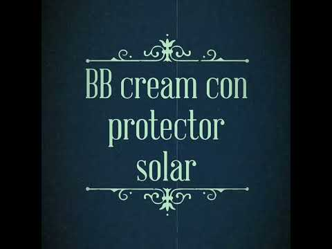 BB Cream con protector solar