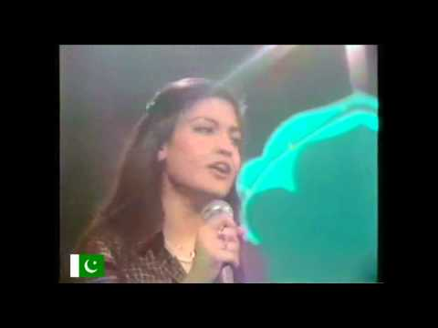 Nazia Hassan - Disco deewane (remix rare video)