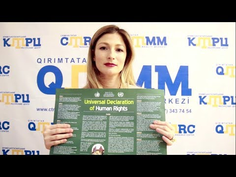 Crimean Tatars joined the Stand up for Human Rights campaign (14)