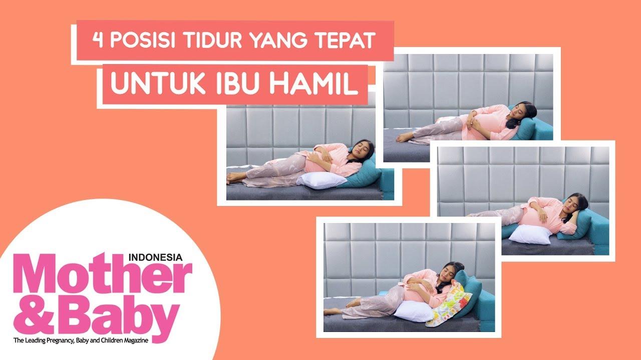 Posisi Tidur Yang Tepat Untuk Ibu Hamil