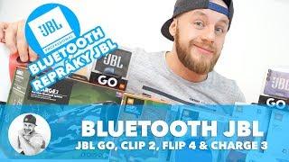📻 REPRODUKTORY JBL GO, JBL Clip 2, JBL Flip 4 a JBL Charge 3... !!! (WRTech Brands #2)