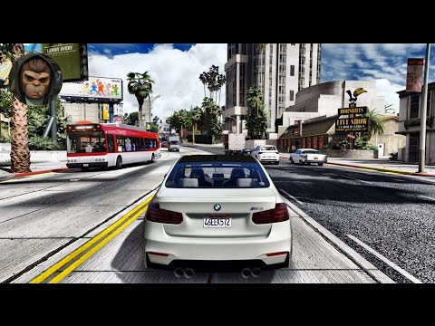 ► GTA 6 Graphics - BMW M3 F30! ✪ REDUX - Gameplay! Ultra Realistic Graphics MOD PC -1080p60 FPS