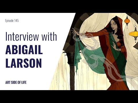 FINDING YOUR ART STYLE -WITH ABIGAIL LARSON (EP.145)