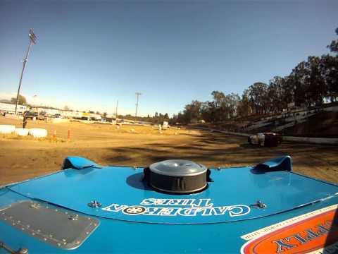 Santa Maria Speedway Joey Claborn IMCA West Coast Super Stock #88C Hot Laps View #2 8/3/13