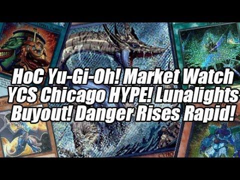 HoC Yu-Gi-Oh! Market Watch - YCS Chicago WRECKS The Market! Lunalight Hype! Dangers Rapidly Rise!
