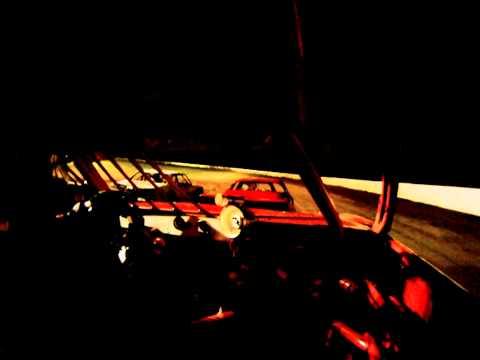 greenville speedway in car