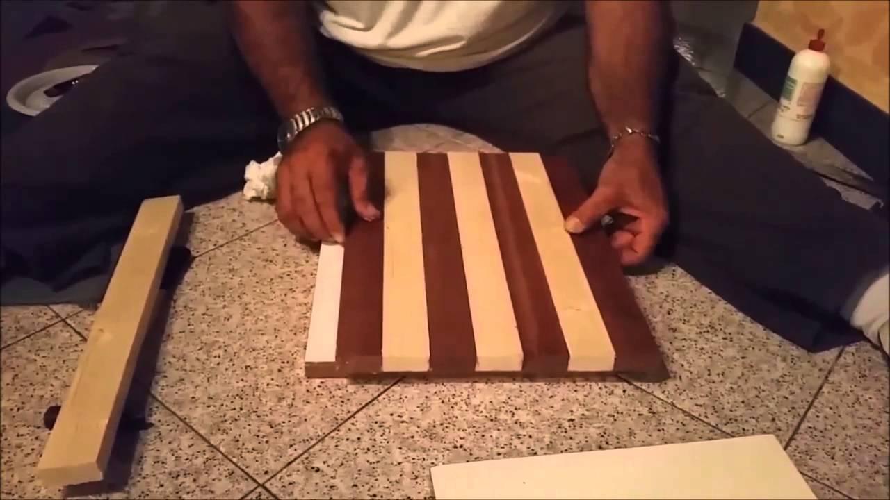 Costruire una scacchiera 3 parte youtube for Costruire una tettoia fai da te