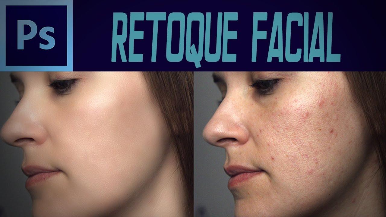 Retoque Facial Y Suavizado De Piel Photoshop 2019 Youtube