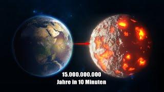15.000.000.000 Jahre Zukunft der Erde in 10 Minuten. Was wird passieren?
