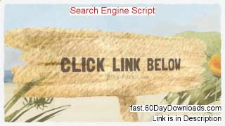 Search Engine Script Review (Best 2014 product Review)